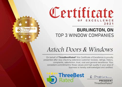 Three Best Rated Certificate